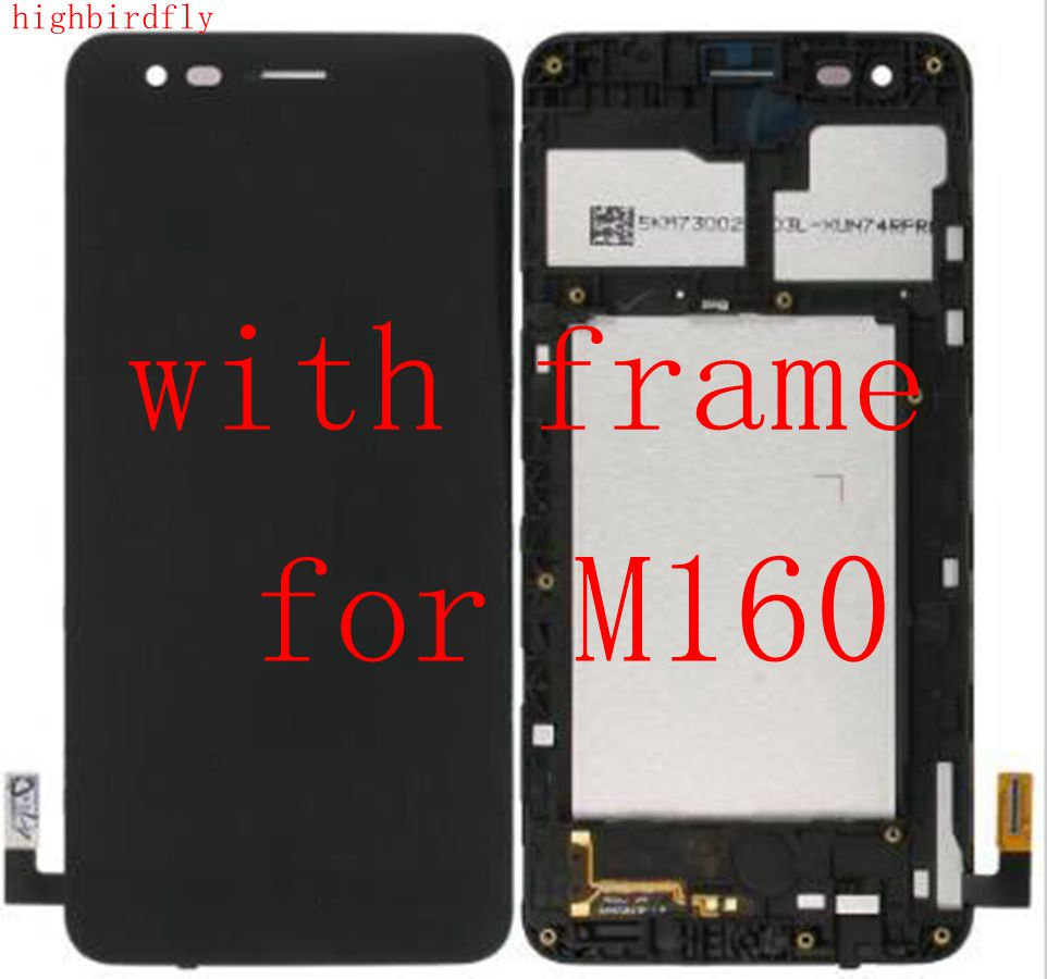 Highbirdfly For <font><b>Lg</b></font> K4 2017 <font><b>M160</b></font> <font><b>Lcd</b></font> Screen Display +Touch Glass Digitizer Assembly replacement parts image