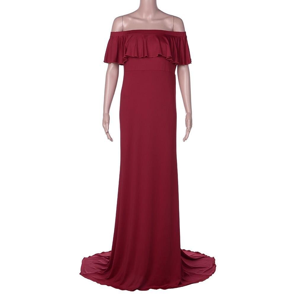 Горячая Распродажа платье для беременных женщин платье для беременных реквизит для фотосессии сексуальное Макси платье для беременных и матерей после родов одежда