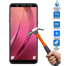 9H Glass Film for Samsung Galaxy J8 J2 J4 J6 2018 A8 Plus A6 Plus J3 J5 J7 2017 A3 A5 A7 2018 Tempered Glass HD Screen Protector(China)