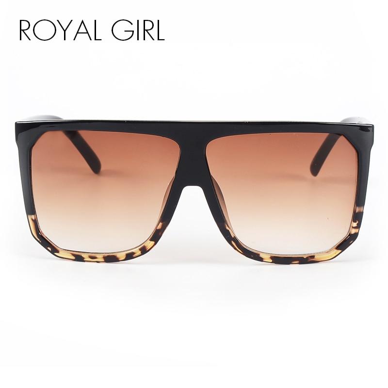ROYAL GIRL Nieuwe Merk Designer Mode Vrouwen Zonnebril Oversize - Kledingaccessoires - Foto 2