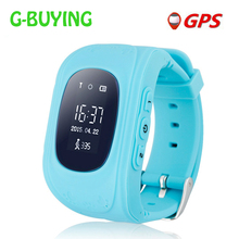 2017 Kid Smart Watch Q50 GPS Location SOS Call Safe Wristwatch Tracker Watch for Kid Child Anti Lost Monitor Baby PK Q60 Q80(China (Mainland))