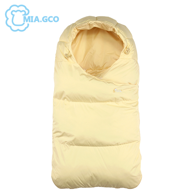 2018 New Winter Outerwear Newborns 0 12 Month Baby Sleeping Bag Foot Luxury Brand Quality