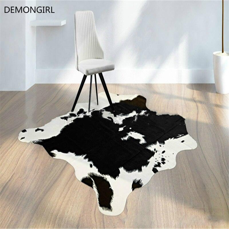 Textiles de maison grands tapis pour salon Simulation peau d'animal salon étude tapis tapis Shaggy tapis adultes