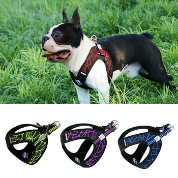 No-pull  Dog Harness For Small Medium Large Dogs  Pitbull Bulldog Outdoor Dog Training Walking Harnesses Safety  Reflective Vest