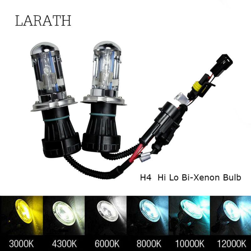 Hot Sale!! 12V 35W H4 HID Xenon bulb 4300k 5000k 6000k 8000k 10000k 12000k Yellow white Blue Xenon H4 6000k H13 9004 9007
