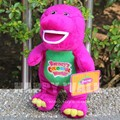 40cm Purple Barney Plush Toy Dolls Singing Cute Toys Valentine's Day Gifts Lovers Confession Gifts Barney Dinosaur Stuffed Toys
