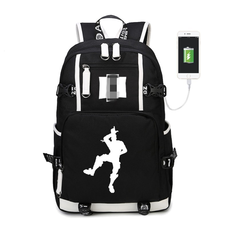 WISHOT Dab bag Luminous multifunction USB charging backpack teenagers Men women's Student School Bags travel Bags