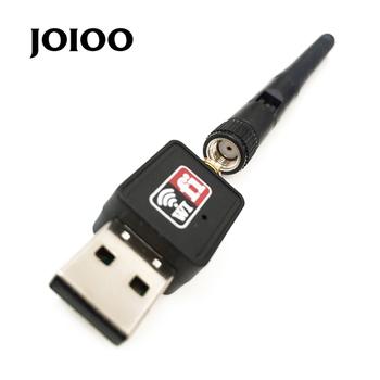 joioo wysokiej jakości 1 szt mini PC WiFi Adapter 150m antena USB Bezprzewodowa komputer karta sieciowa WiFi Dongle tanie i dobre opinie 802 11 na n Ethernet Zewnętrznych Bezprzewodowy ZŁĄCZE USB 2 0 150mbps do 2 4 G BINYEAE (w) Laptop 10 cm Stock Pojedyncza częstotliwość 2 412-2 484 GHz