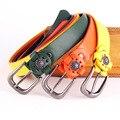 [YAMEZI] Fashion Pin buckles retro decorative belt leisure lady wide belt female light body trend belt NY076