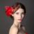 2017 Nova Chegou Elegante Boutique de Noiva Cocar de Penas Acessórios Para o Cabelo Nupcial Do Casamento Headpiece Acessórios