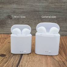 цена на Bluetooth Bloototh Earphone i7s Mini fone de ouvido Headset True Wireless Earphones With Mic tws For All Smart Phone