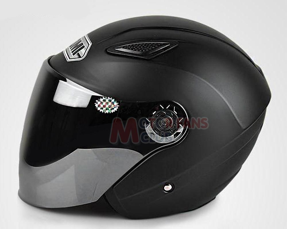 99dbe624 New Motorcycle Bike 3/4 Open Face Half Helmet With Full Face Visor DOT ECE  t with free shipping-in Helmets from Automobiles & Motorcycles on  Aliexpress.com ...