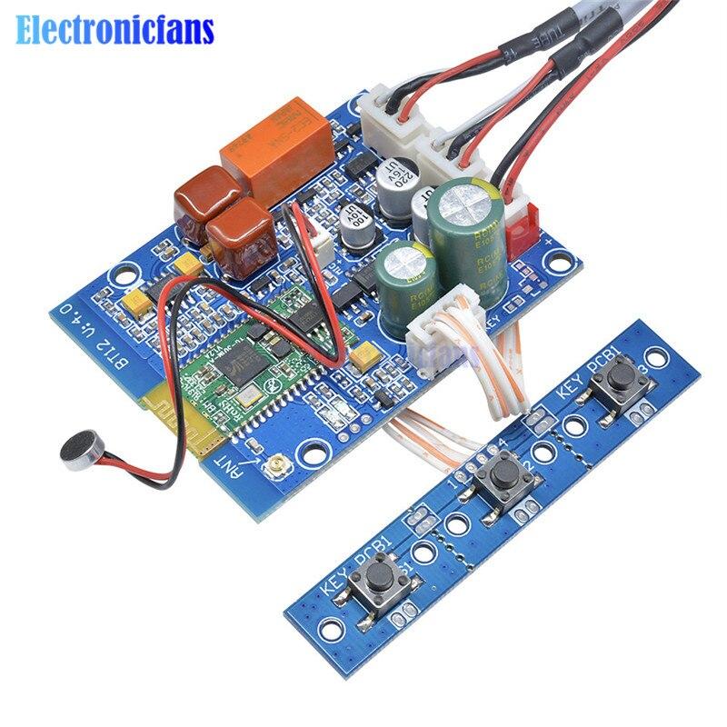 diymore CSR8645 CSR 4.0 Bluetooth Audio Receiver Music APT-X Stereo Wireless Board Module For Amplifer Audio Speaker DIY Kit
