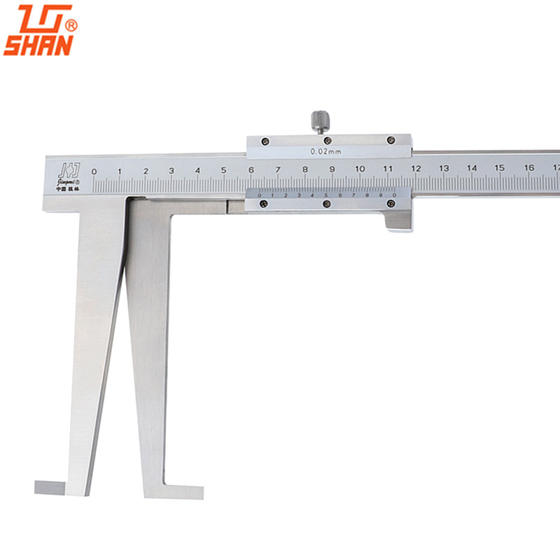 Inside Groove Vernier Caliper 30-300mm/0.02mm Carbon Steel Long Claw Calipers Precision Measuring ToolInside Groove Vernier Caliper 30-300mm/0.02mm Carbon Steel Long Claw Calipers Precision Measuring Tool