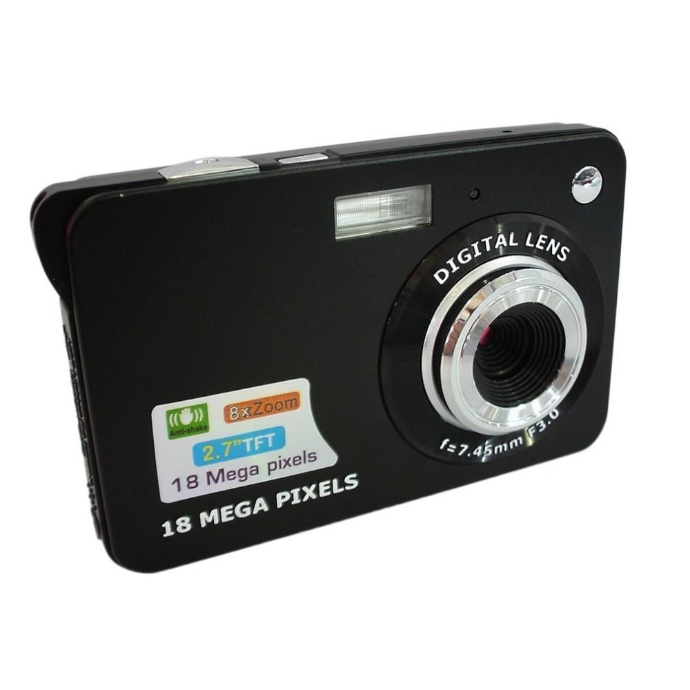 DC530 2.7'' TFT LCD HD 720P 18MP Digital Video Camera Camcorder with 8X Digital Zoom Anti-shake 5MP CMOS Sensor
