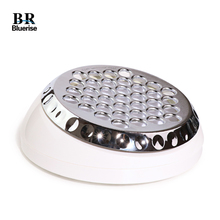 BR Новый турбинный пылесос для ногтей 60 Вт для маникюра, малошумный пылеуловитель для ногтей, мощная машина, пылесборник для ногтей