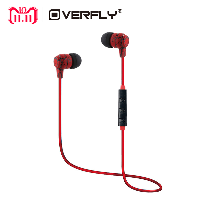 Overfly Wireless Bluetooth Headphones Earphones Sport Running Headset Stereo Super Bass Headset Earbuds Handsfree With Mic bluetooth headphones wireless earphones stereo bass headset earbuds foldable sport earphone with microphone mp3 player