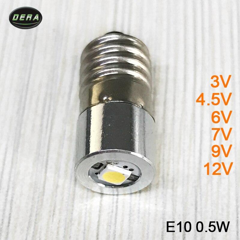 Best price0 5w E10 3v 4 5v 6v 7v 9v 12v font b LED b font