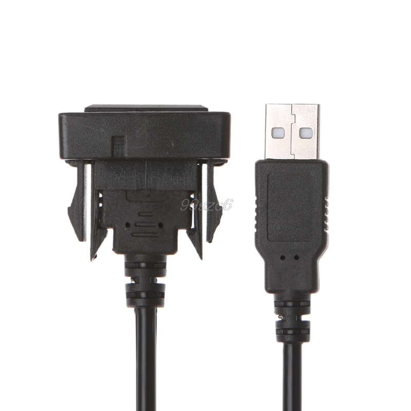 Usb Cable 1 Port In Socket For Toyota Hilux Vigo 04-12 Car Motorbike Electronics Accessories Port Usb Pour Cable