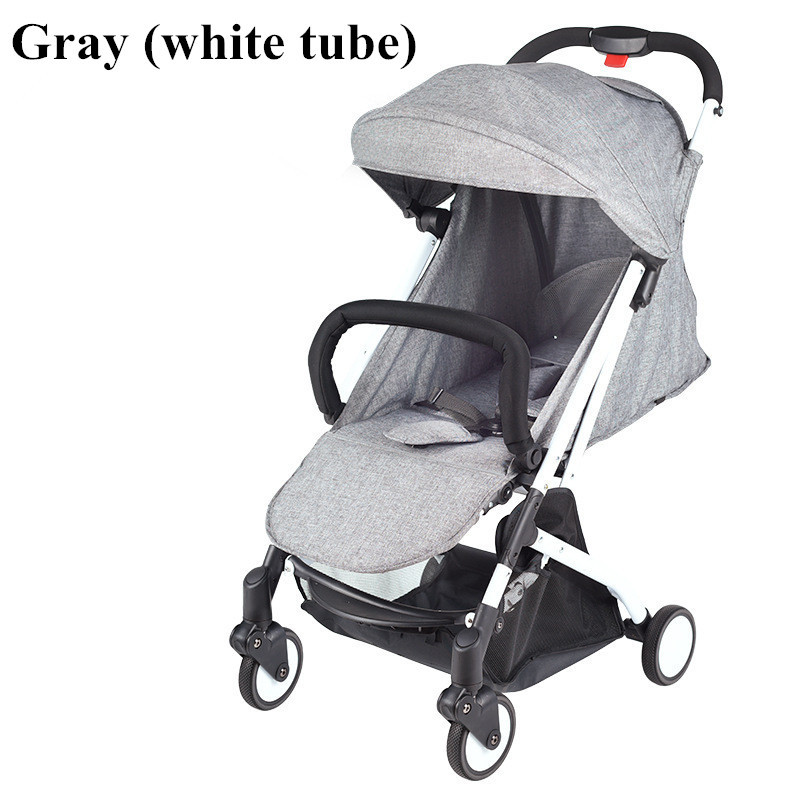 2017 Brand New 4 in 1 Newbore Umbrella Pram Lightest Portable Baby Strollers Four Wheels Anti-Shock One Key Folding Cart09