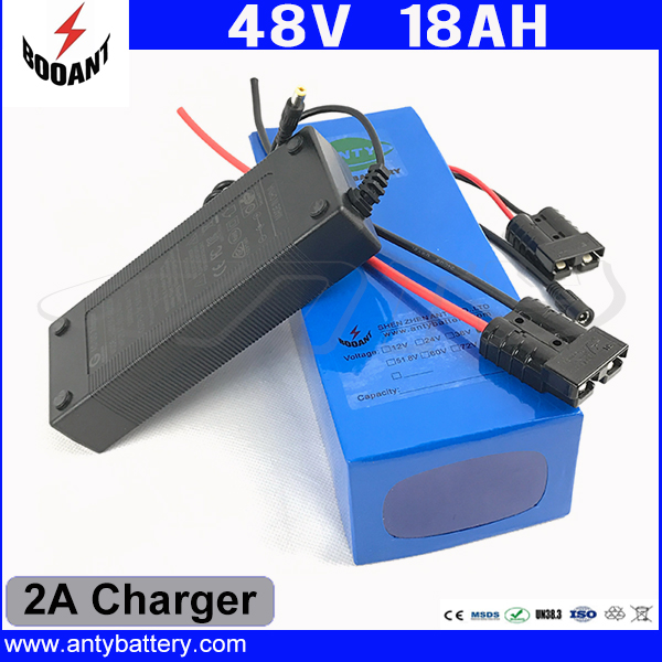 48V 18Ah Electric Bicycle Battery For Bafang 1000W Motor Lithium ion Battery 48V With 2A Charger 30A BMS Free Shipping free customs taxes super power 1000w 48v li ion battery pack with 30a bms 48v 15ah lithium battery pack for panasonic cell
