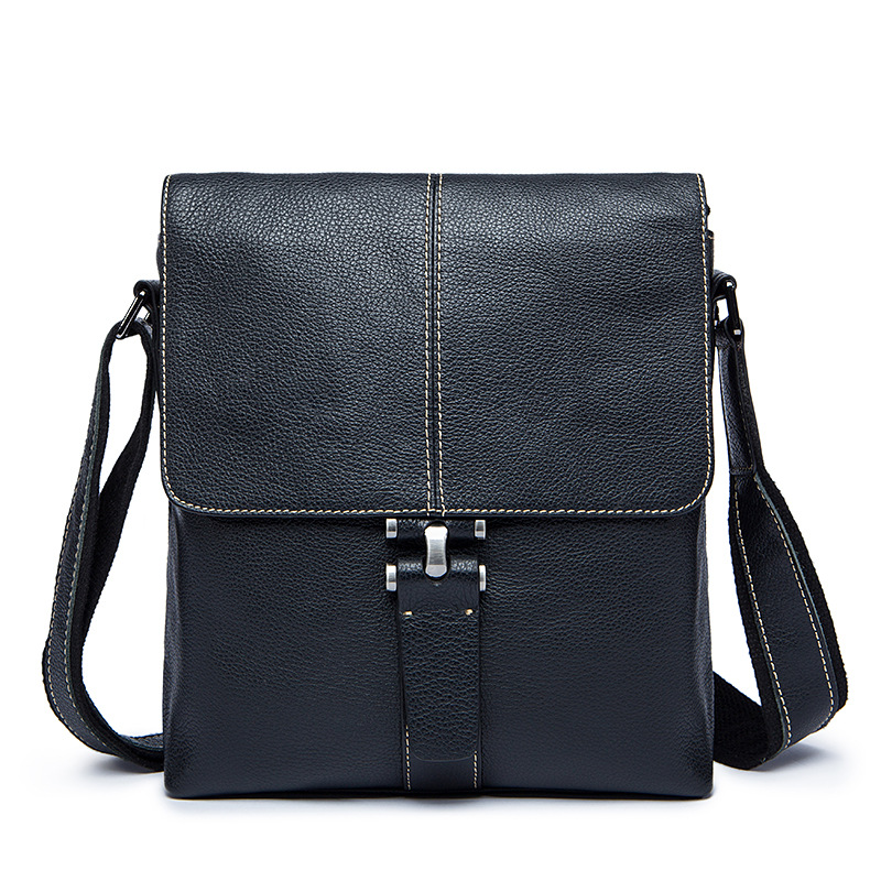 Famous Brand Genuine Leather Men Bag Male Casual Business Messenger Bags Men s Small font b
