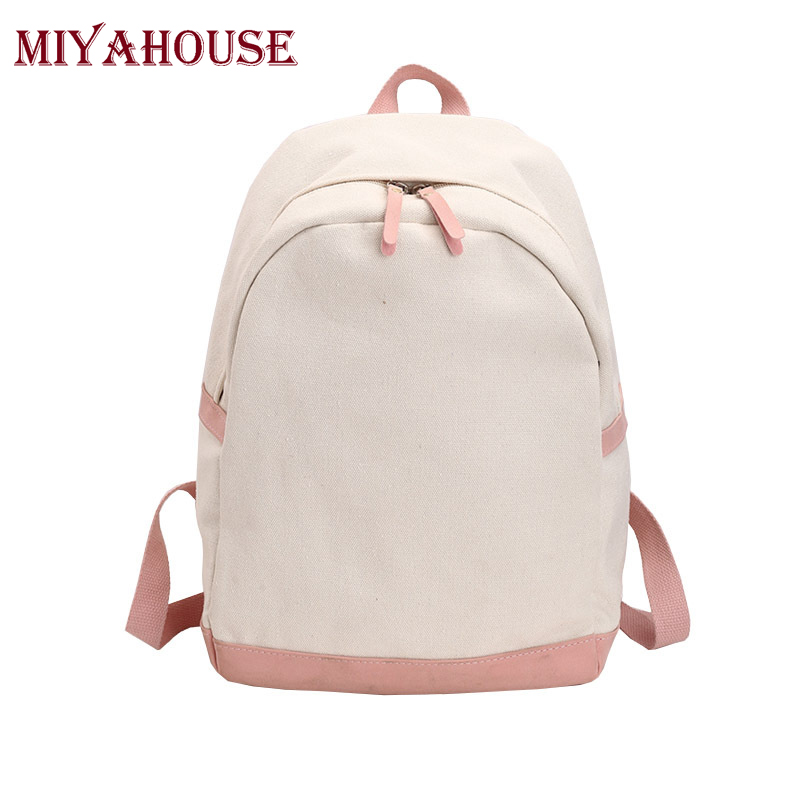 Miyahouse Teenagers Girls Fresh KoreanStyle Harajuku Ulzzang Backpack High School Students Shoulder Schoolbags Women Travel Bags miyahouse new fashion pu leather backpack women school bags for teenagers girls travel backpack female high quality shoulder bag