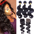 7A Virgin Mink Brazilian Virgin Hair Body Wave Rosa Hair Products Human Hair Extensions 5PCS/Lot Brazilian Body Wave Hair Weave