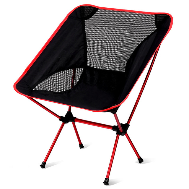 Wonderful LumiParty Outdoor Ultralight Back Rest Chairs Portable Foldable Chairs With  Carry Bag For Camping Fishing