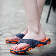 2017 new summer time tide footwear slippers males's cool sandals toes tide male non-slip seaside footwear put on personalised persona dr