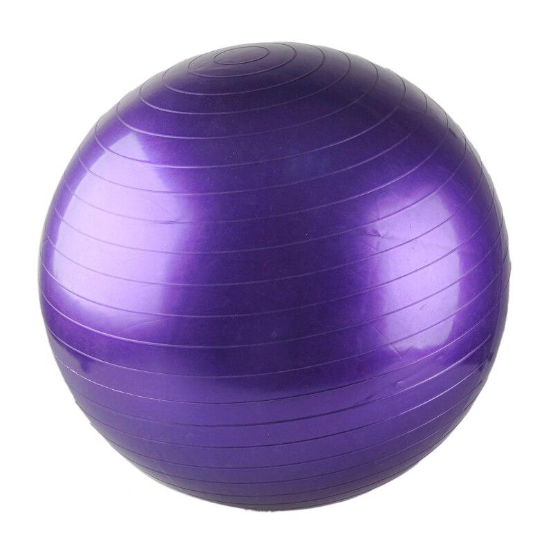 55 CM Flexible Yoga Ball Thick Explosion Proof Massage Ball Bouncing Ball Gymnastic Exercise Yoga Balance Ball 5 Colors