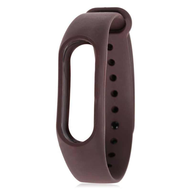 HIPERDEAL Smart Accessories wriststrap TPU New Soft TPU Original Silicon WristStrap WristBand Bracelet Replacement For MI Band 2