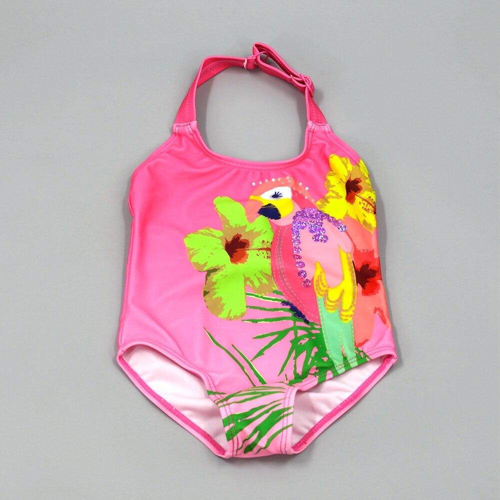 Nouveau-né infantile Filles Bikini Swimwear Beachwear Maillot de bain Summer Kids Suits