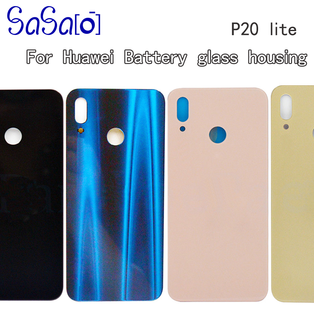 P20 lite Back Battery Cover Replacement For Huawei P20Lite Nova 3e Rear Housing Glass Chassis Door