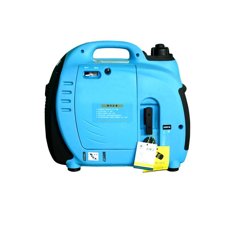 pequeno gerador 1kw gerador a gasolina inversor digital domestico pequeno monofasico 220 v gerador de motor