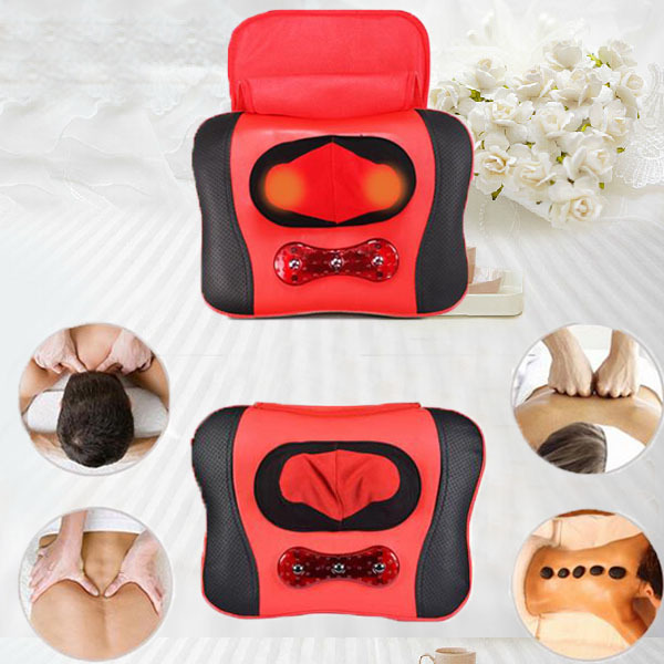 New Tourmaline Magnetic Therapy Neck Massager Cervical Vertebra Massager Protection Heating Body Massager Free Shipping цена