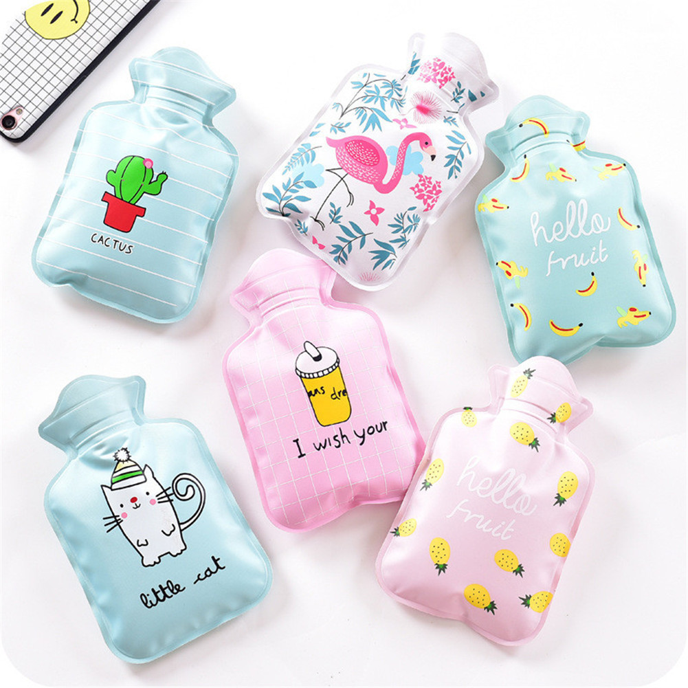 Bright 1pcs Cartoon Rubber Hot Water Bottle Bag Hand Feet Warming Plush Warm Heat Relaxing Cold Outdoor Home Handbags Necessary Crazy Price Home Appliances