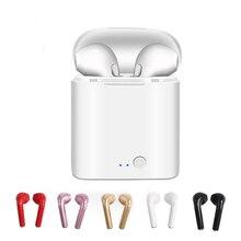 Wireless Bluetooth 5.0 Mini Earphones Earpiece Stereo Handsfree I7 I7s TWS Headset With Mic For Xiaomi PIhone Samsung Huawei