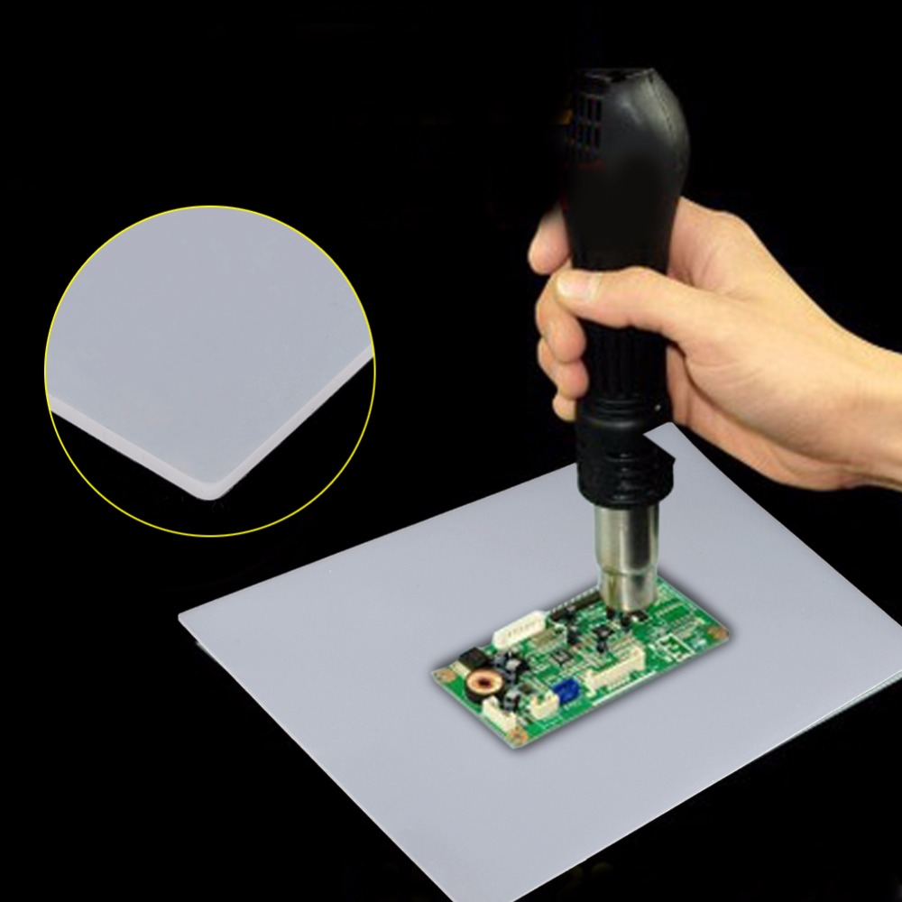 Heat Gun Soldering Station Heat-resistant Repair Maintenance Pad Desk Silicone Mat Welding Accessories Tools heat pad