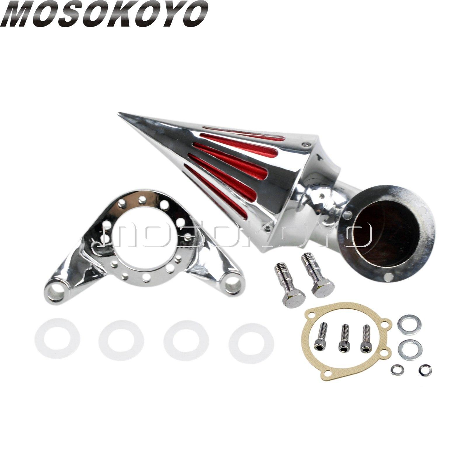 For Harley CV Carburetor Delphi V Twin Motorcycle Spike Air Filter Air Cleaner Intake Kit