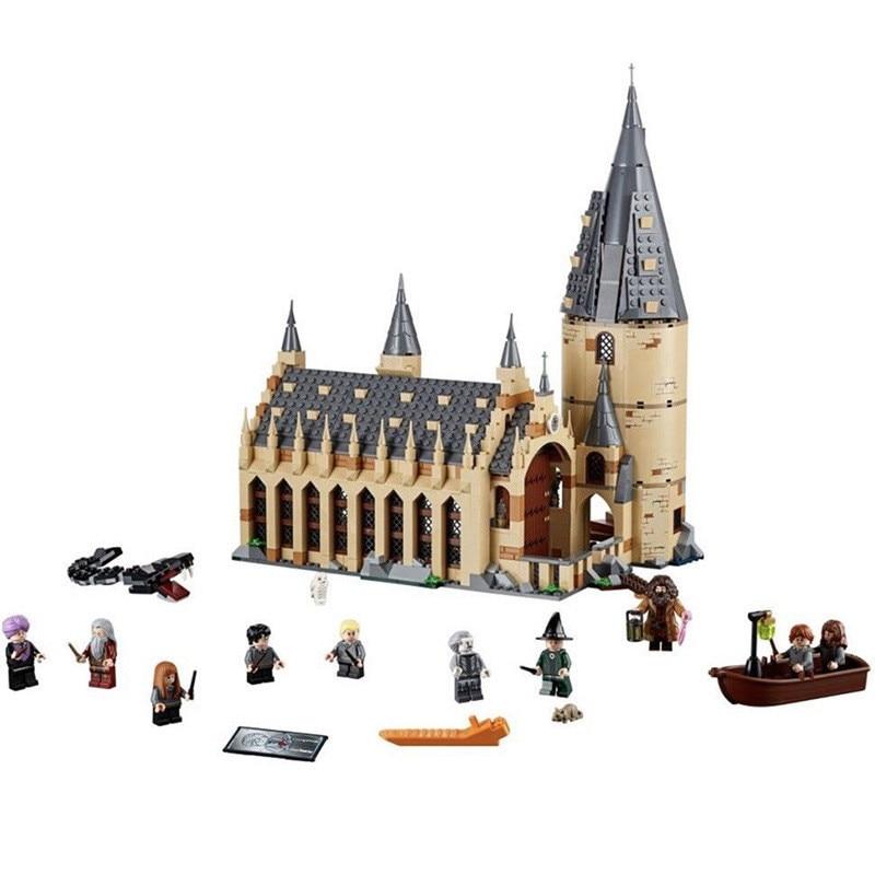 Building Blocks 16052 16054 16053 16030 16031 Legoing Harri Movie Potter Hogwarts Great Hall Whomping Willow Clone 75954 75953