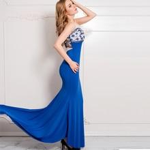 Unique Design Lace Patchwork Party Maxi Dress Tulle Slim Girl Elegant Dress Shoulder Mesh Net Sleeveless Summer Dress