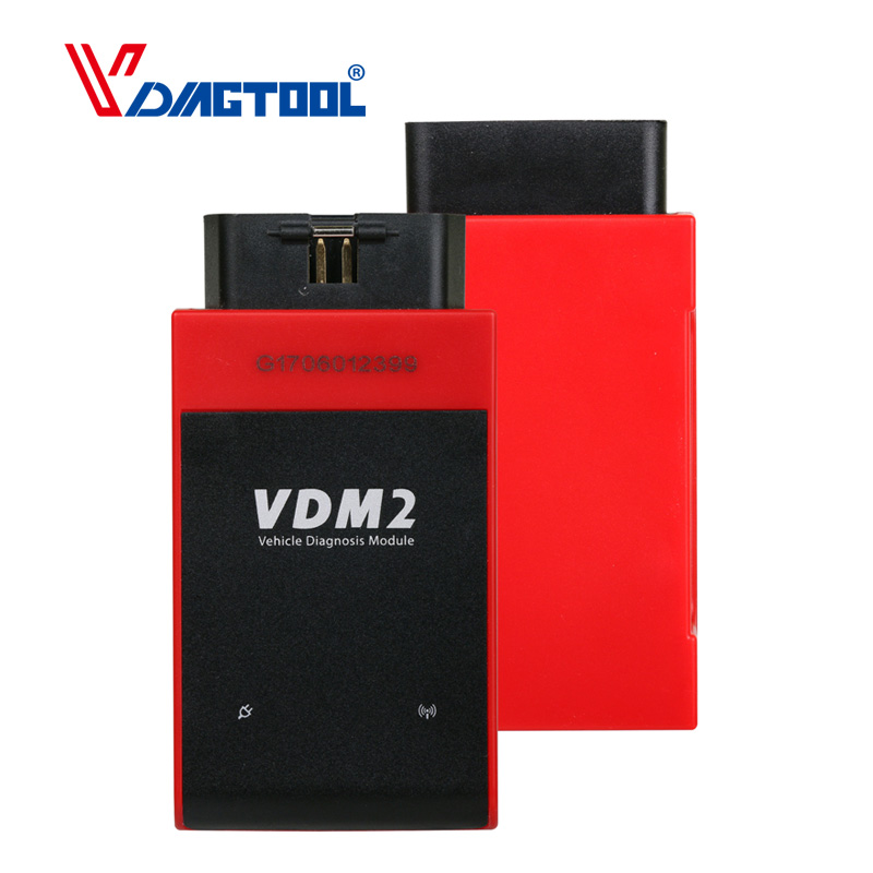 Original UCANDAS VDM II WIFI & Bluetooth Automotive Scanner VDM2 V5.2 Support Multi-Language and Android System