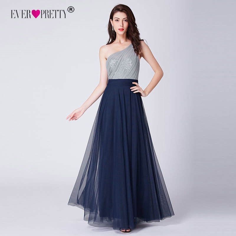 Prom Dress Long 2019 Elegant Ever Pretty EP07404 Sexy Sleeveless Backless A line Tulle Robe De