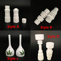 Wholesale Domeless Ceramic Nail Enail Fit for 16mm 20mm Heater Coil Enail Dab Use with Carb Cap