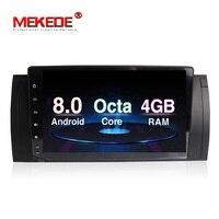 4G Оперативная память Android 8,0 PX5 автомобильный DVD плеер Радио стерео для BMW X5 E53 E39 M5 Octa Core 32G Встроенная память gps навигации Мультимедиа вайфай RDS