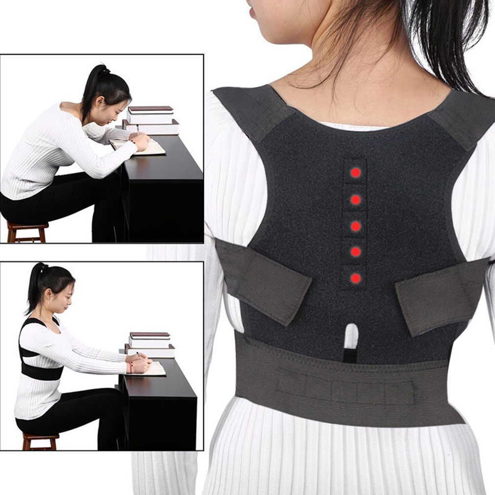 Magnet Posture Correction Belt Adult Sitting Posture Corrective Device Straight Back Student Straightening Spine