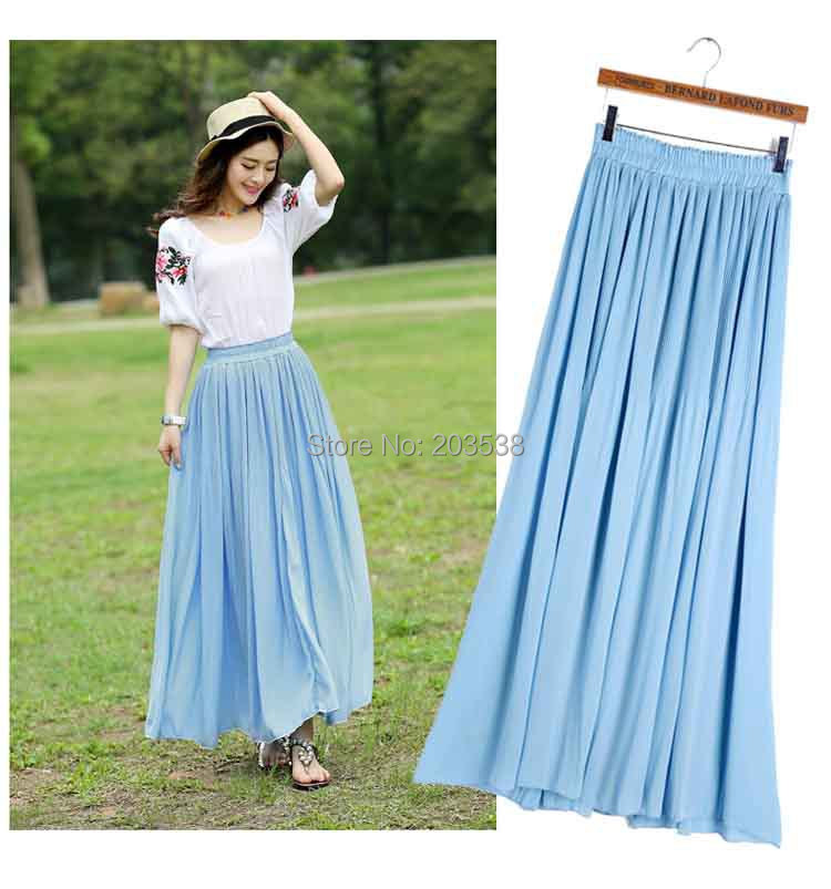 Long Skirt Fashion - Skirts