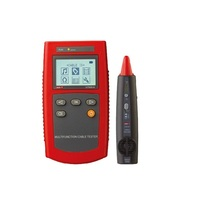 UNI T UT681A Cable Finder Set Network Tester Hunt Instrument Check Line Device Loop Resistance Test Wire Sequence Scanning