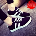 2016 New Fashion arrival Lace-up Women Zapatos Mujer Women Classic Canvas Casual Shoes Women's The Trend of Female Round Toe